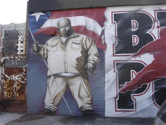 One of the greatest verses ever h world for Big pun mural bronx